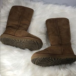 Ugg tall chestnut boots
